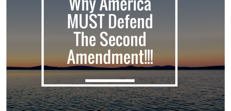 Why America MUST Defend The Second Amendment
